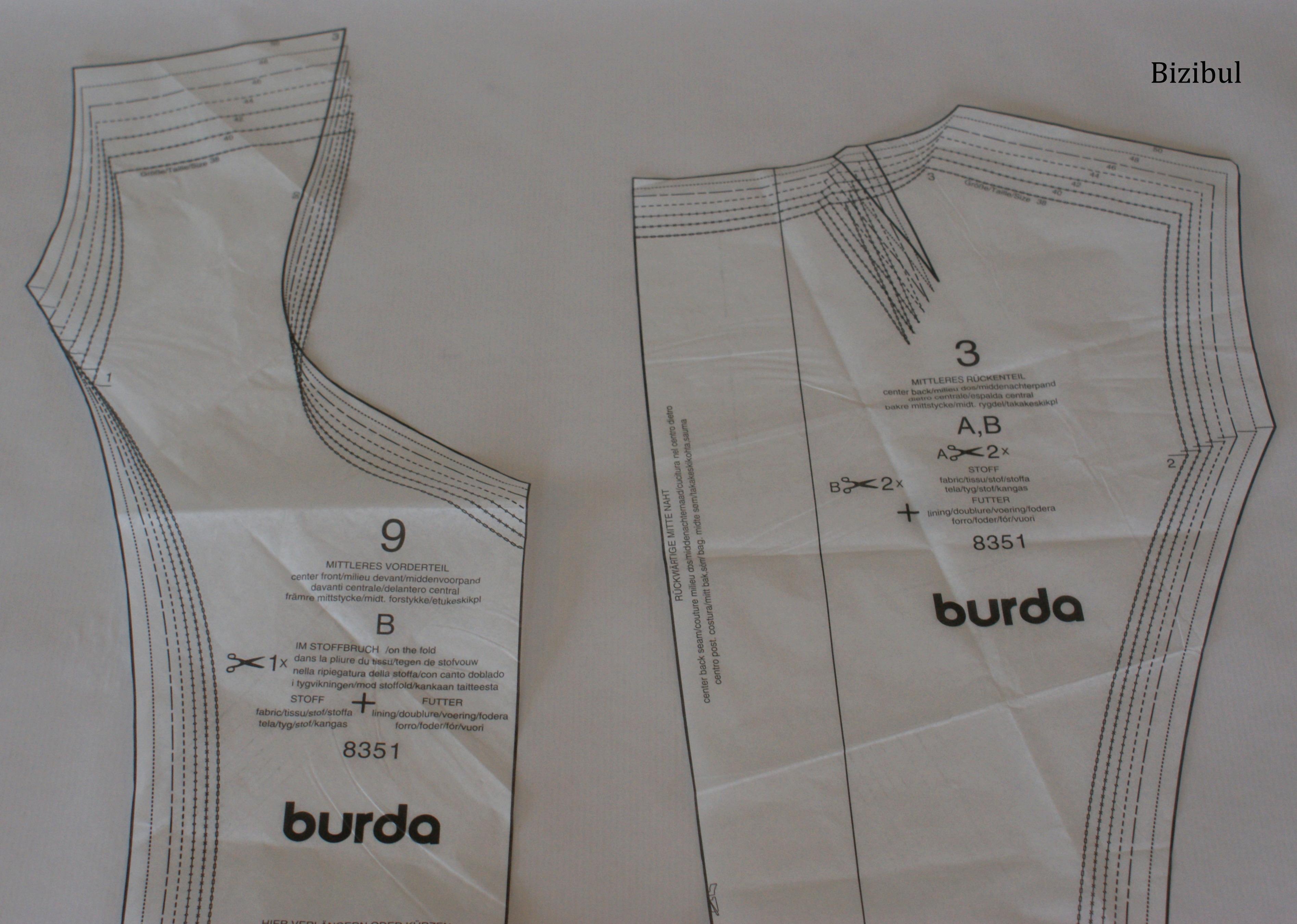 Comment dessiner une parmenture couture bizibul - Comment dessiner une tresse ...