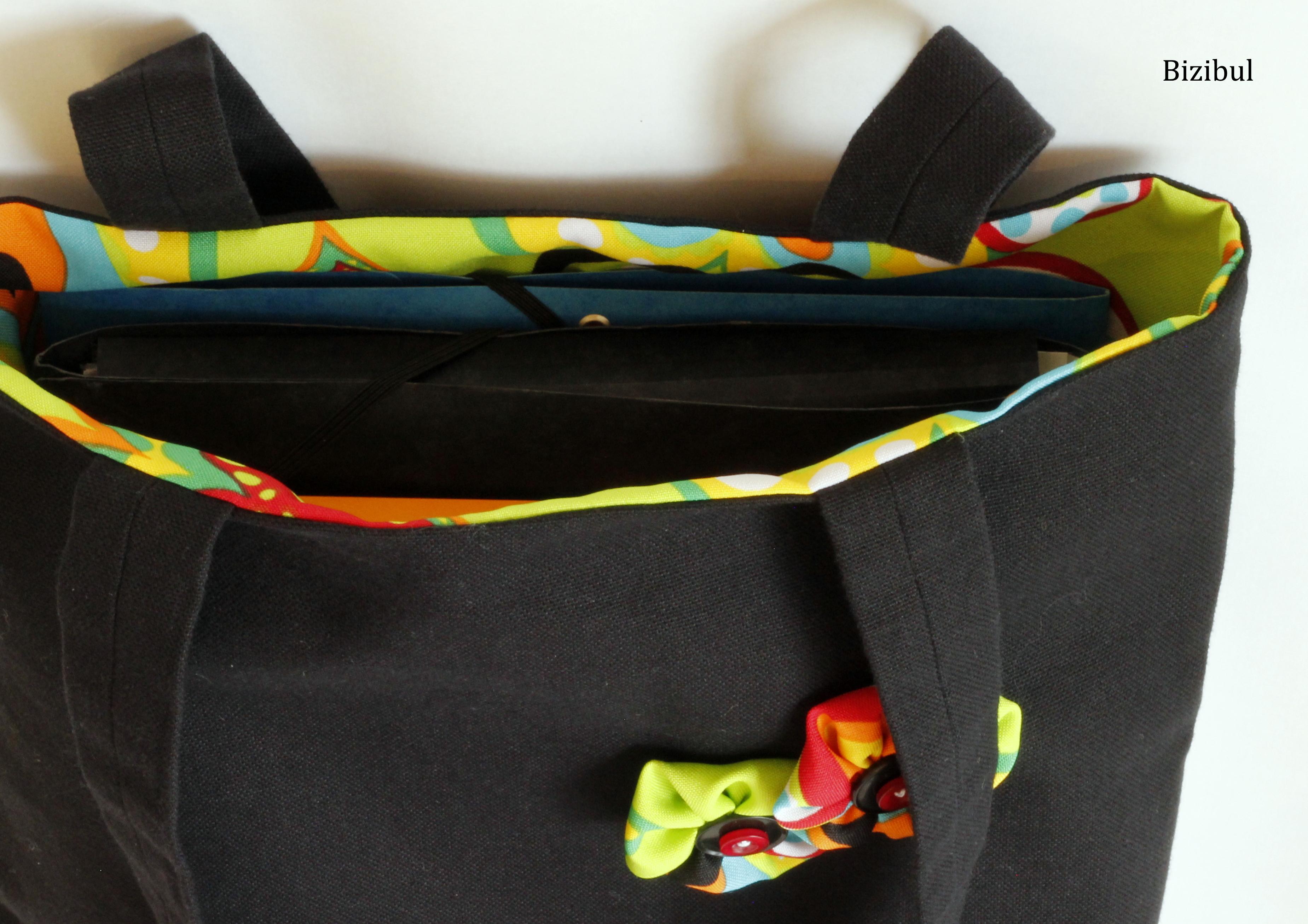 Cours de couture le tote bag bizibul - Cours de couture nantes ...