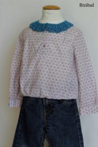 la blouse fait partie des tenues à adopter avec un col à poser