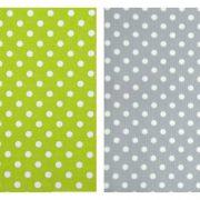 choix des tissus du tipi vert et gris